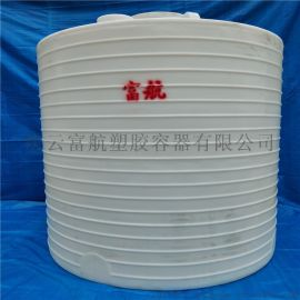 立式20立方储水塑料罐 20吨塑料水塔厂家