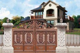 承德别墅庭院大门铸铝别墅庭园大门别墅庭院大门