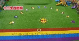 貴州五人制足球場人造草坪懸浮拼裝地板安裝廠家