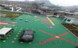 山西浑源县悬浮地板左云县拼装塑胶球场厂家