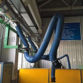 焊烟机配套耐高温风管A尼龙布高温增强风管