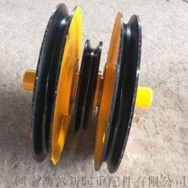 10T双梁滑轮组  轧制定滑轮组  抓斗滑轮组