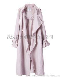 服装货源怎么【现货】巴伯瑞女士时尚风衣