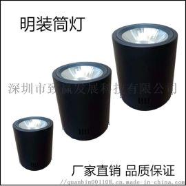 LED明裝筒燈,商場照明展櫃燈光
