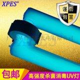 300W高強度UV光解廢氣淨化紫外線消毒燈大功率無極紫外線燈管廠家