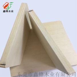 全椴木胶合板椴木心椴木面多层板椴木家具工艺品材料