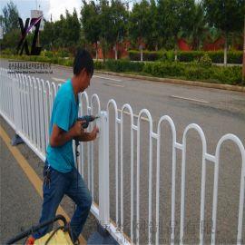 京式交通护栏,马路中央隔离护栏,市政道路护栏定做