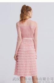 低价服装那里拿货诗易茜苎麻拼接裙子连衣裙