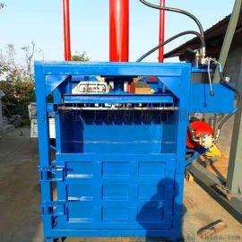 废塑料瓶液压打包机 PVC压包机 薄膜液压打包机