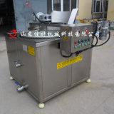 新款鱼皮油炸机控温准确,电加热鱼皮加工设备