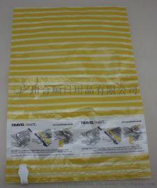 新款PE尼龙衣物压缩袋羽绒服收纳袋家用储物整理透明防尘防潮真空袋批发