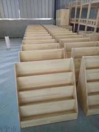南宁儿童实木书架 幼儿园书柜 幼儿园家具
