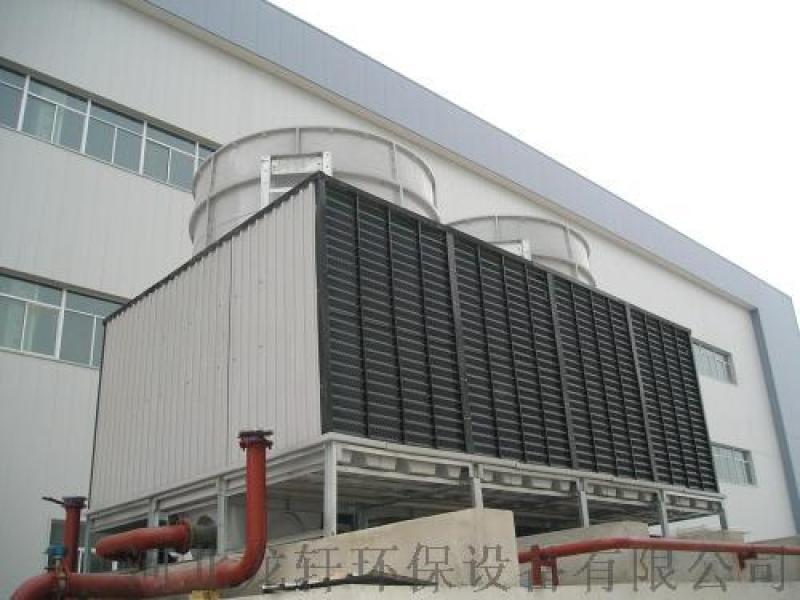 生产玻璃钢节能冷却塔 方形逆流冷却塔