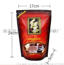 立体茶叶自立拉链包装袋  裕锋茶叶袋生产厂家