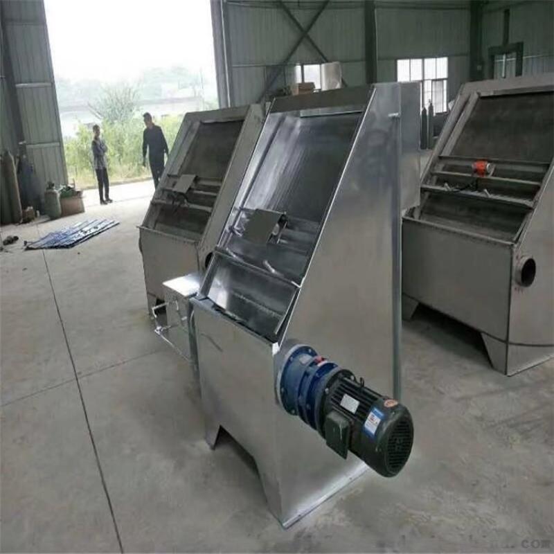 牲畜乾溼分離機 性能穩定鋼螺旋壓榨