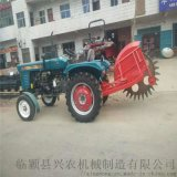 四輪拖拉機開溝機 大型拖拉機開溝機