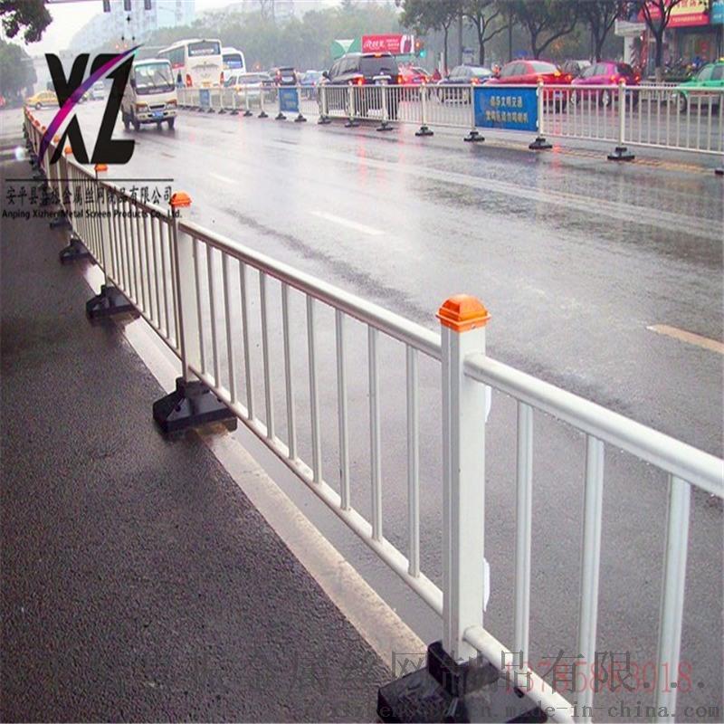停车场道路护栏,超市隔离市政护栏,交通隔离道路护栏