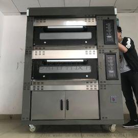 大型分层烤箱面包蛋糕披萨烤炉不锈钢烤箱商用厨房设备