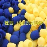 大量供应 蓝牙耳机海绵套/进口蓝牙耳机海绵/方形挖孔海绵套