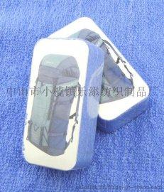 廠家直供創意造型純棉超細纖維數碼印花繡花壓縮毛巾