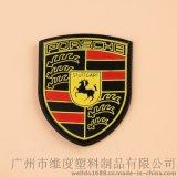 供应pvc软胶商标 LOGO胶章 服装标牌 广州工厂 机器生产