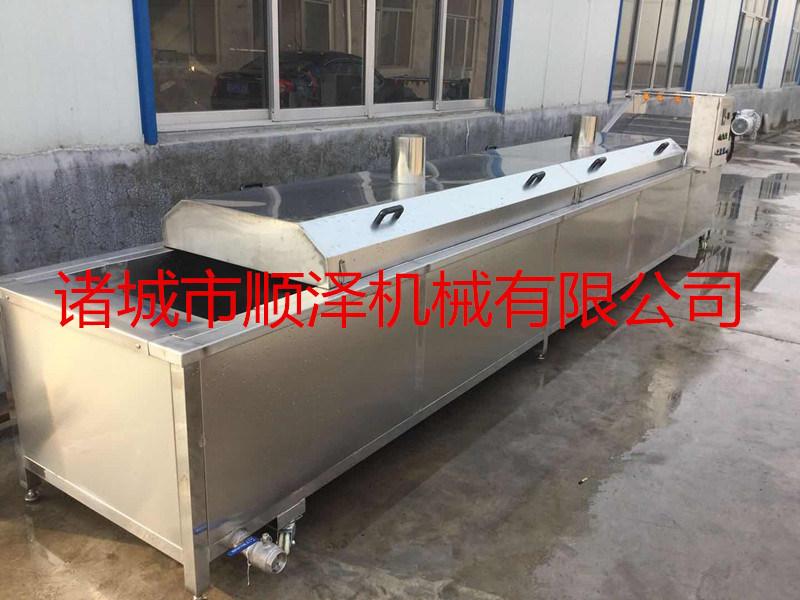 安徽白芍蒸煮机 白芍连续蒸煮机 连续蒸煮设备