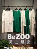 歐美風2018春夏新款棉麻休閒系列大碼女裝連衣裙,廣州品牌女裝折扣批發