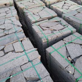 灰色規則板 亂形板 火山巖切片 裝飾火山石板材