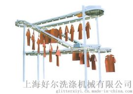 工作服输送线,双层互动输送线,定制各类工作服输送线
