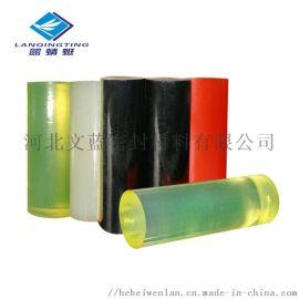 pu聚氨酯胶棒黄色耐磨实心牛筋棒优力胶亚克力棒