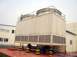 工业高温冷却塔 玻璃钢圆形逆流式冷却塔厂家直销