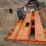 大型渠道成型机 6米水渠机 钢丝绳牵引渠道成型机