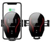 紅外自動感應車載手機快充支架 Qi無線充支架