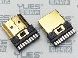 491-HDMI連接器 公座焊線式
