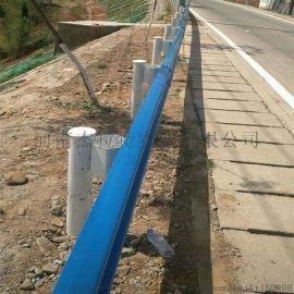 波形护栏 道路坡道旁防护栏 二波护栏板