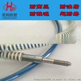 超高压钢丝增强清洗软管,宏翔清洗机高压软管厂家