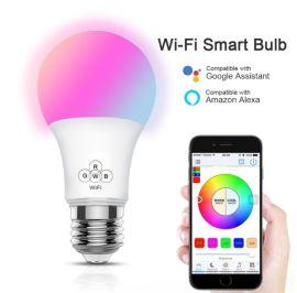 wifi智能全彩LED球泡灯 支持语音控制