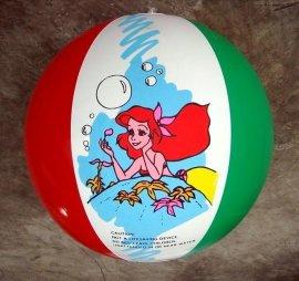 充气沙滩球