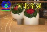 供应大型圆形花盆,玻璃钢圆形花盆,白色圆形大花盆,可定做