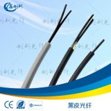 通信塑料光纖內徑1.0外徑2.2mm二次外被4.0mm5.0mm6.0mm黑色PVC光