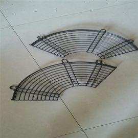 定做异型防护钢丝网罩 圆形扇形机械保护防护罩