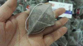 三角包袋泡茶包装机尼龙无纺布茶叶包装机全自动电子称三角包