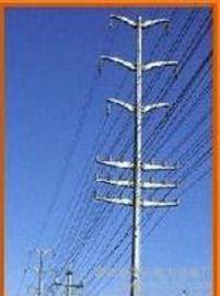 遼寧阜新10KV電力杆、電力杆及高爾夫球場網杆
