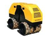 凸块压路机路得威 11遥控式沟槽压实机 沟槽回填压实机RWYL202/RWYL202C 凹凸块压路机