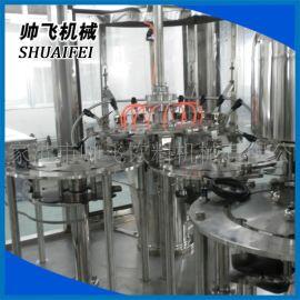 矿泉水生产线 三合一灌装机 饮料食品灌装机
