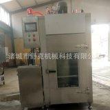 河北衡水小型糖熏炉 电加热熏肠糖熏炉 YX-50小型熏鸡炉 熏鸡箱