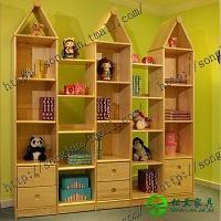 松兰家具实木书柜