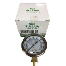 寿力压力表 空压机精密过滤器压力表
