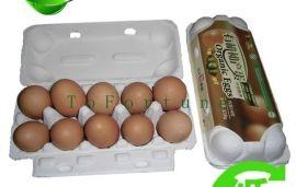 山东厂家专业生产土鸡蛋纸浆蛋盒,纸蛋托纸盒纸塑 鸡蛋托型号大全现货