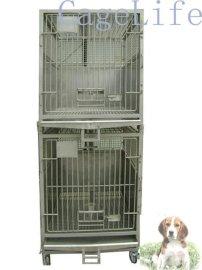 不锈钢实验狗犬猴猪笼实验动物